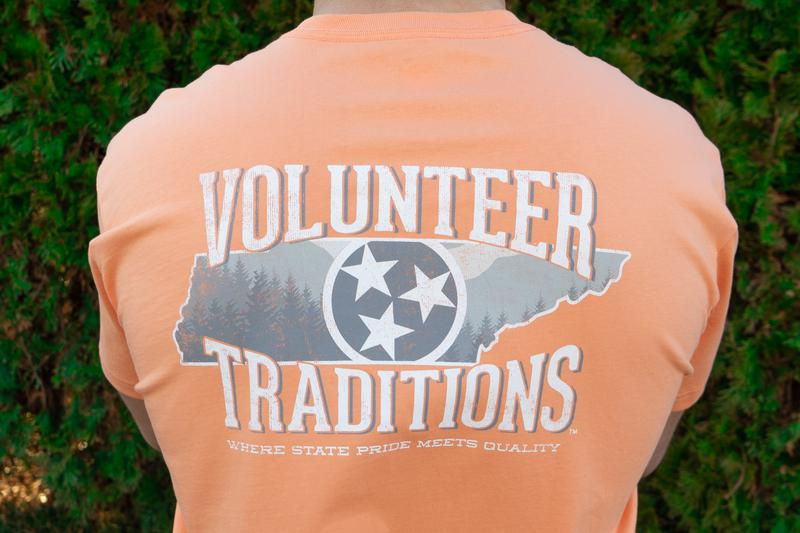 Volunteer Traditions TN Outline Pocket Tee