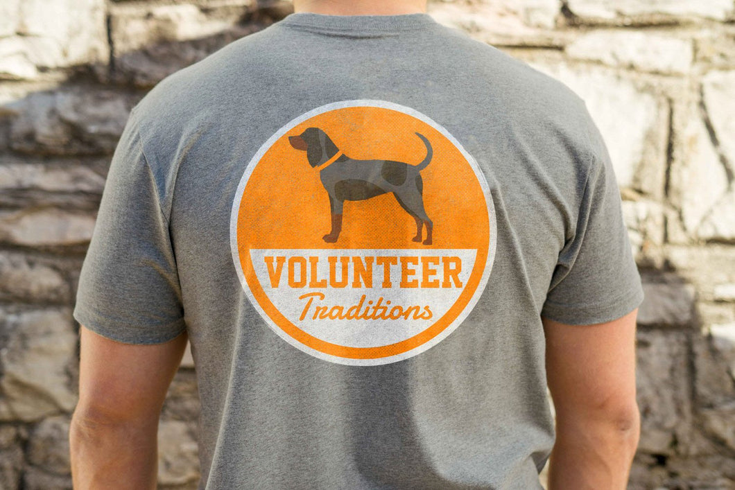 Volunteer Traditions Bluetick Patch Pocket Tee