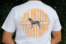 Load image into Gallery viewer, Volunteer Traditions Bluetick Stamp Pocket Tee