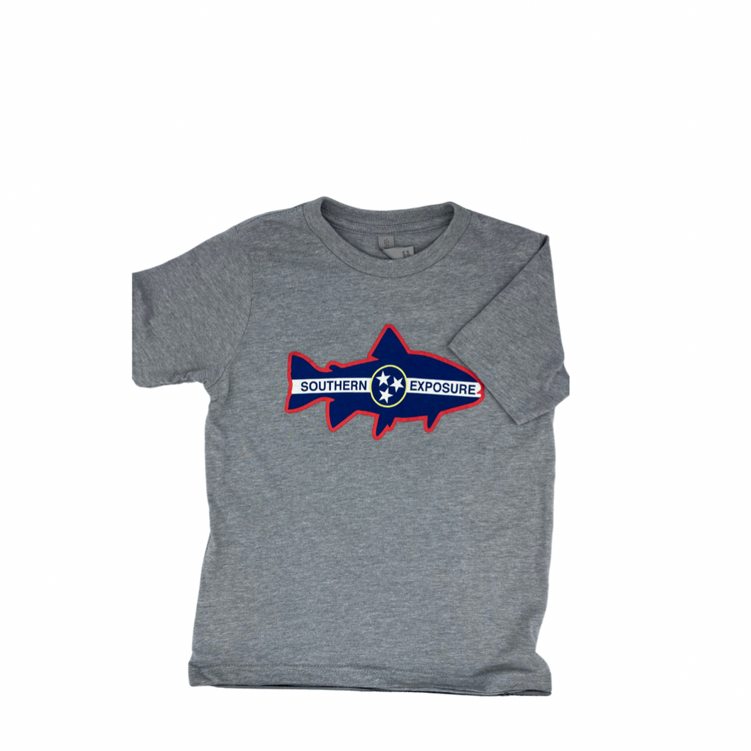 Southern Exposure Youth Trout Tristar Tee SS