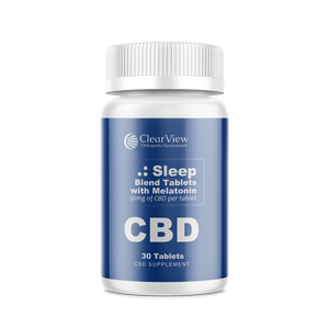 NEW 50mg Sleep Blend Tablets w/ Melatonin (30-count)