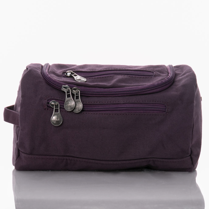 Mini Barrel Bag by Sativa Hemp Bags plum