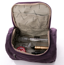 Load image into Gallery viewer, Mini Barrel Bag by Sativa Hemp Bags plum