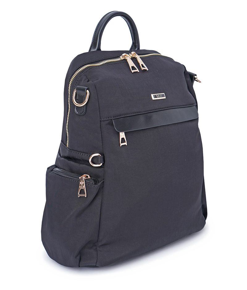 En-ji Lisa Backpack - Black - EN-JI