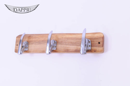 Lock Handle Coat Rack 3 Hooks