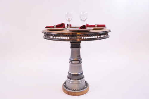 Resin Main Shaft Dining Table