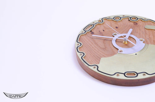 Space 'O' Seal Ring Clock