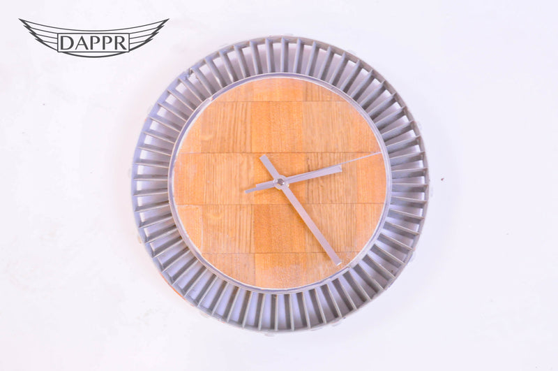 Stage 4 Vane Ring Clock with Chequerboard Style Face