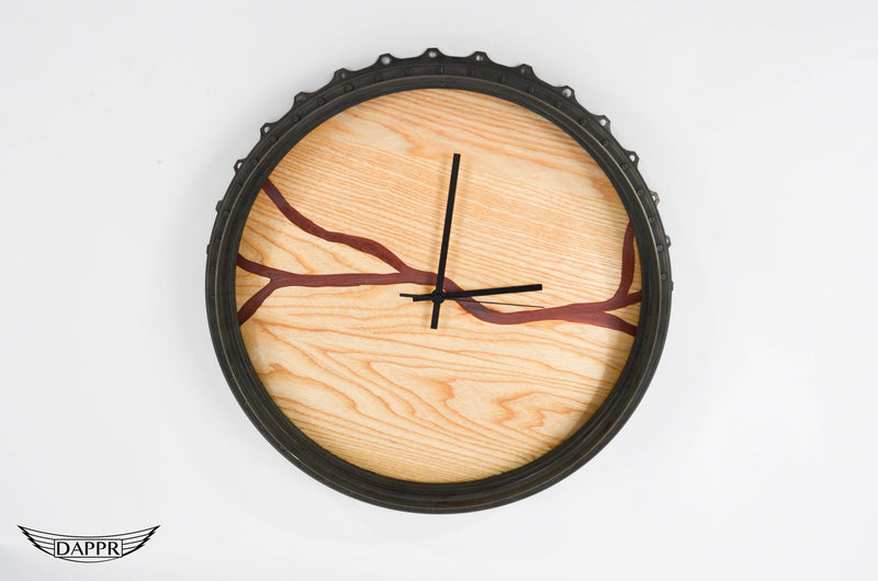 RB199 Resin River Clock