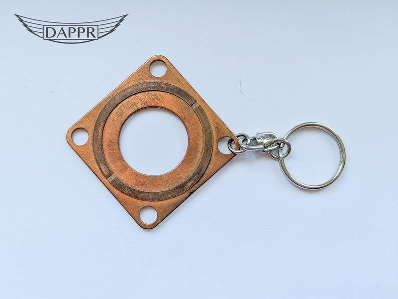 Boeing 737 Spacer Shim Key Ring