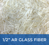 "1/2"" AR Glass Fibers (12mm)"