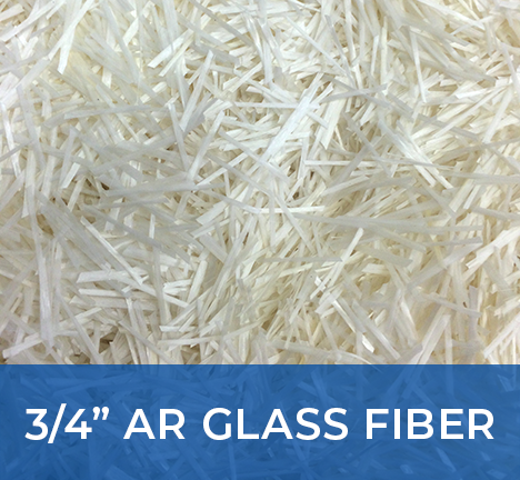 "3/4"" AR Glass Fibers (19mm)"