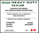 GCD Heavy Duty - Porous Surface Sealer