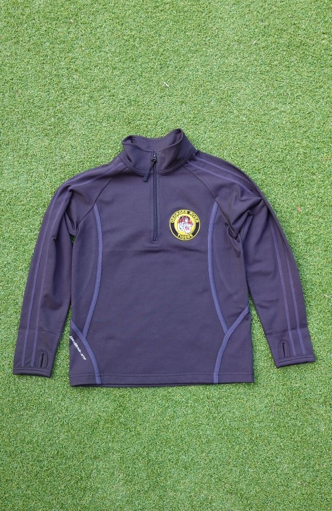 Half Zip Training Jacket - Adult