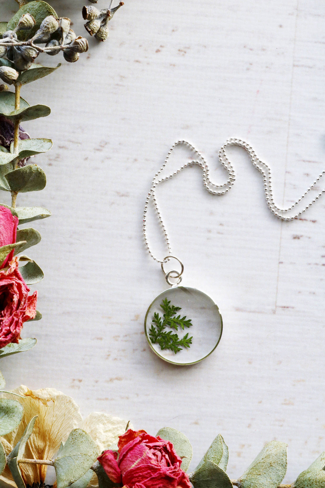 Flora and Forest Jewellery - Circle Necklace