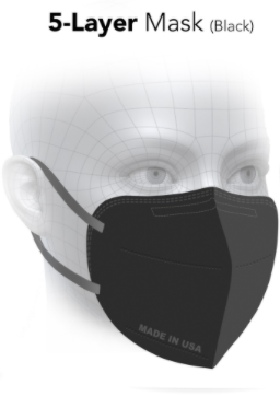 5 Layer Mask (Black)