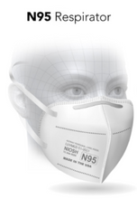 Load image into Gallery viewer, N95 Respirator Mask