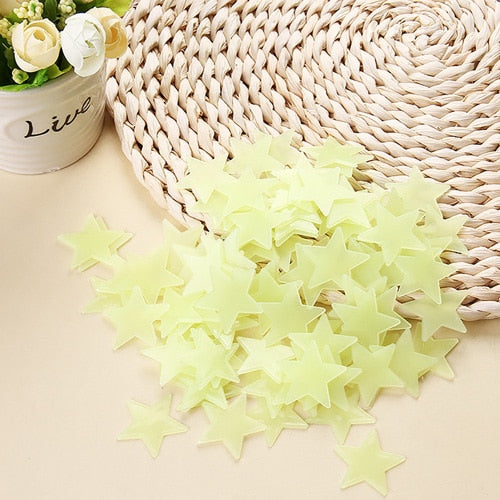 Glow In The Dark Stars Sticker