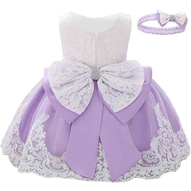 Newborn Long Sleeve Baby Girl Dresses