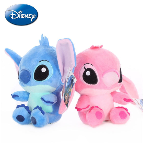 20cm Disney Lilo & Stitch Couple Models