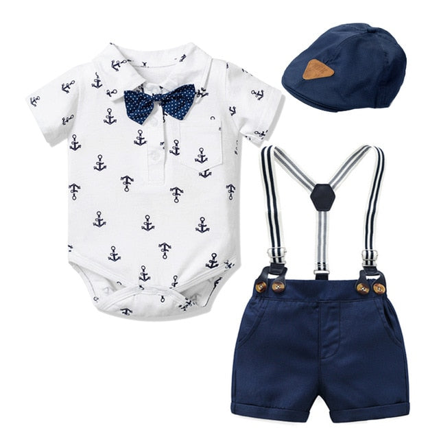 Newborn Boy Clothing Outfit Suit