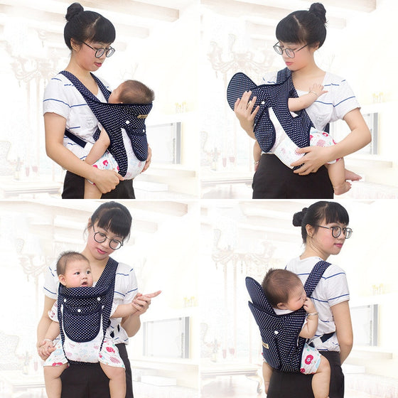 Baby Carrier Wrap Sling Shoulder Strap Backpack