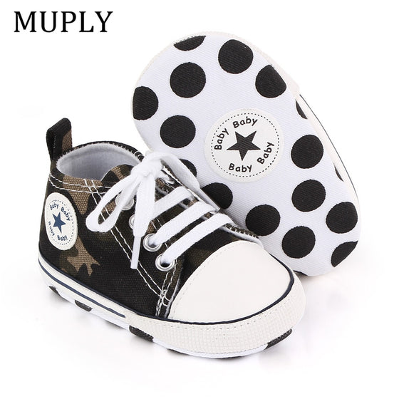 Baby Canvas Classic Sports Sneakers