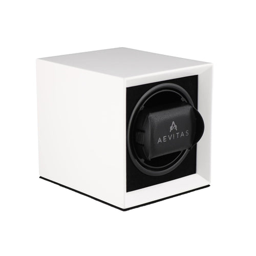 Watch Winder for 1 Automatic Watch in White Mains or Battery by Aevitas