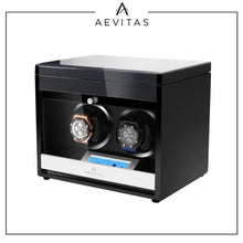 Load image into Gallery viewer, 2 Watch Winder in Carbon Fibre Finish by Aevitas