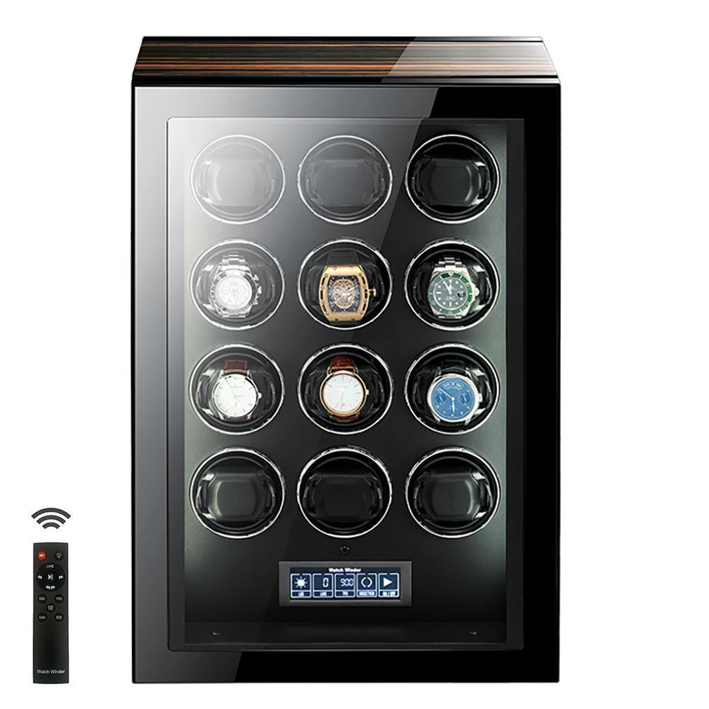 Tempus 12 Watch Winder for Automatic Watches with Touch Screen
