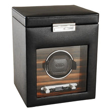 Load image into Gallery viewer, Wolf Designs ROADSTER 2.7 Watch Winder Rotator with Storage