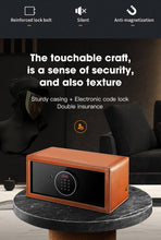 Load image into Gallery viewer, Tempus Safe Watch Winder for 8 Watches in Brown Genuine Leather