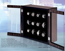 Load image into Gallery viewer, Orbita Avanti Twelve Watch Winder for 12 watches