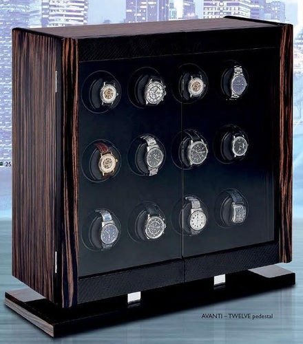 Orbita Avanti Twelve Watch Winder for 12 watches