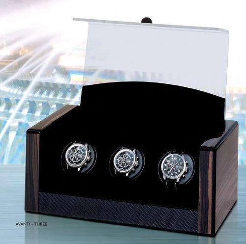 Orbita Avanti Three Watch Winder Triple or 3 Watch version