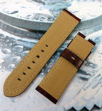 Load image into Gallery viewer, Dark Brown Alligator 24-22 mm Panerai Strap