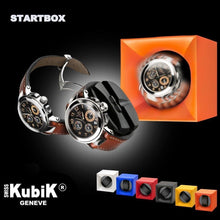 Load image into Gallery viewer, Swiss Kubik StartBox Single Watch Winder in Black Soft Touch Finish