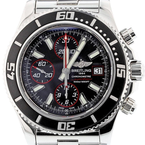 Breitling SuperOcean Chronograph II Automatic Watch A13341 Box - Papers MINT