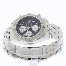 Load image into Gallery viewer, Breitling Chronomat Evolution 44 Stainless Steel A13356 with Box and Papers Anthracite Grey Numeral Dial