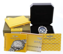 Load image into Gallery viewer, Breitling Crosswind Special Big Date with Blue Dial Complete with Boxes and Papers