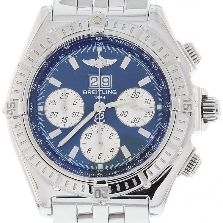 Breitling Crosswind Special Big Date with Blue Dial Complete with Boxes and Papers