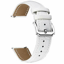 Load image into Gallery viewer, Replacement Watch Band Green Leather Quick Release Strap 10,12,14,15,16,17,18,19