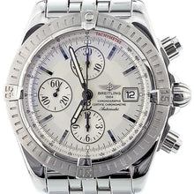 Load image into Gallery viewer, Breitling Chronomat Evolution Model Stainless Steel with Silver Dial A13356