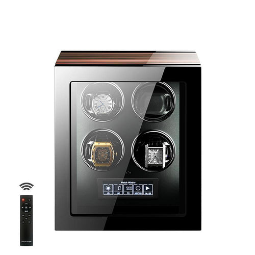 Tempus 4 Watch Winder for Automatic Watches with Touch Screen