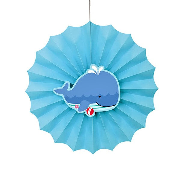 Sea Pals Paper Fan Decoration