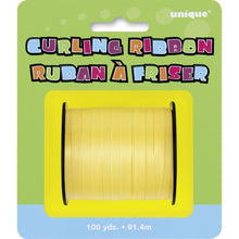 Load image into Gallery viewer, Yellow Balloon Curling Ribbon