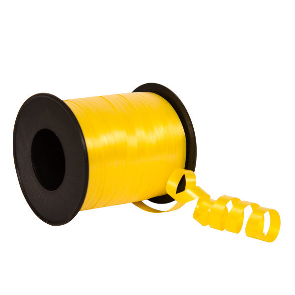 Yellow Balloon Curling Ribbon