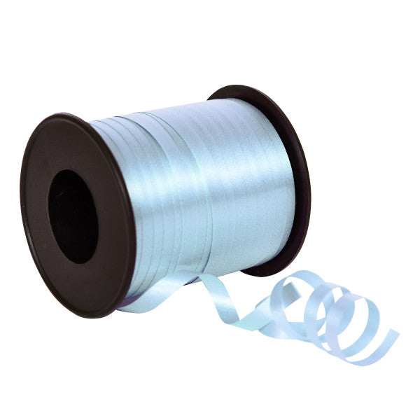 Soft Blue Balloon Curling Ribbon