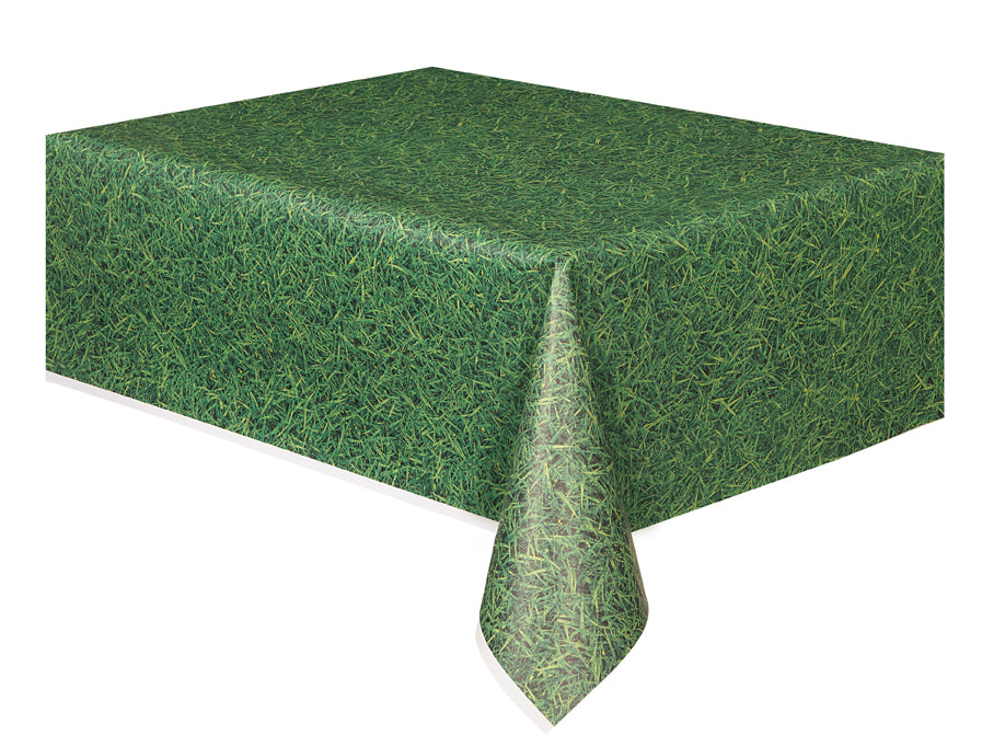 Grass Effect Party Table Cover