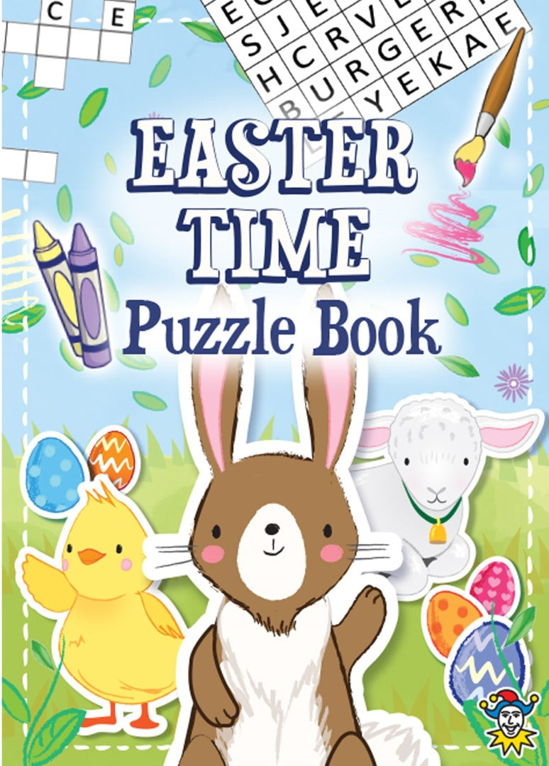 Easter Colouring Puzzle Book